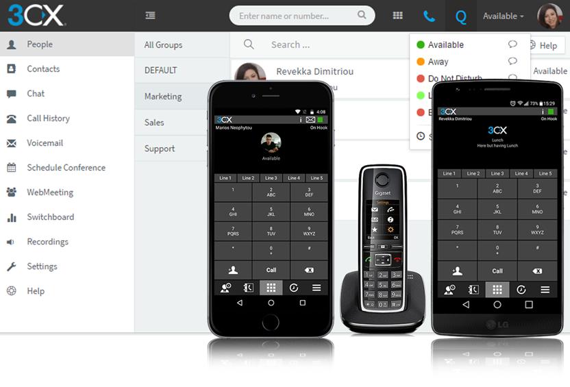 a779384c990 Med IP-telefoni från oss kan du ringa från en vanlig telefon, dator eller  smartphone.