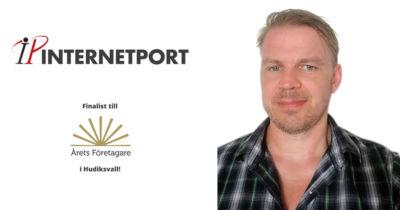Peter Forslund, Internetport, finalist årets företagare 2018